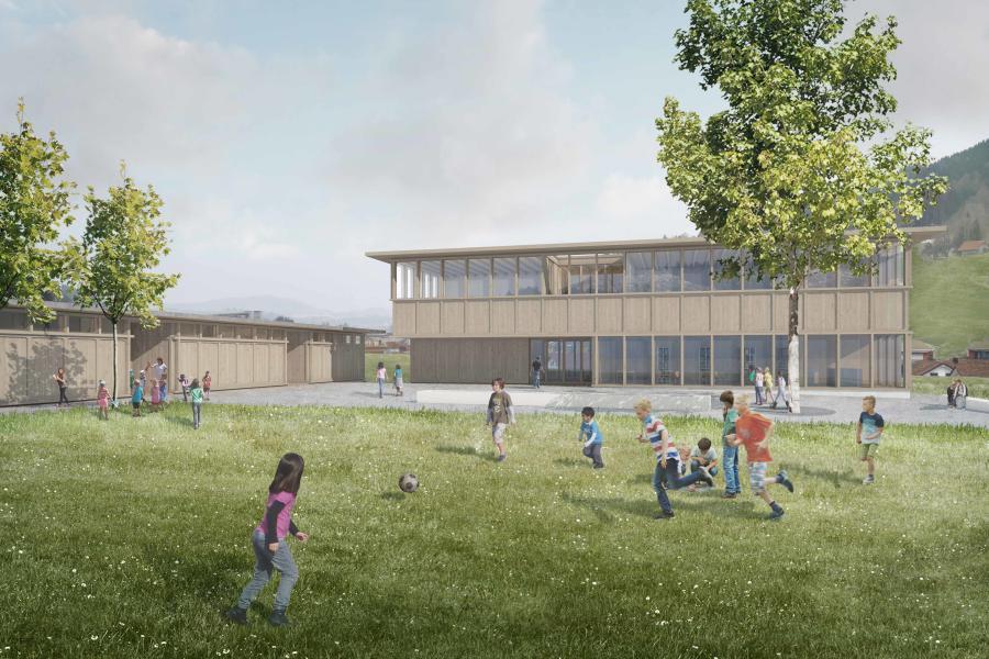Siegerprojekt Amadeus von Rohrer Sigrist Architekten (Visualisierung: Projektverfassende)