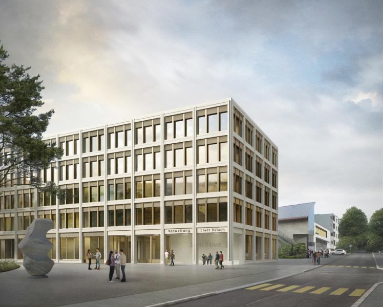Zur Realisierung empfohlenes Projekt von BE Zürich | Implenia (Visualisierung: Projektverfasser)