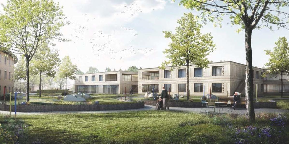 Siegerprojekt Floss von Schneider Gmür Architekten (Visualisierung: Projektverfassende)