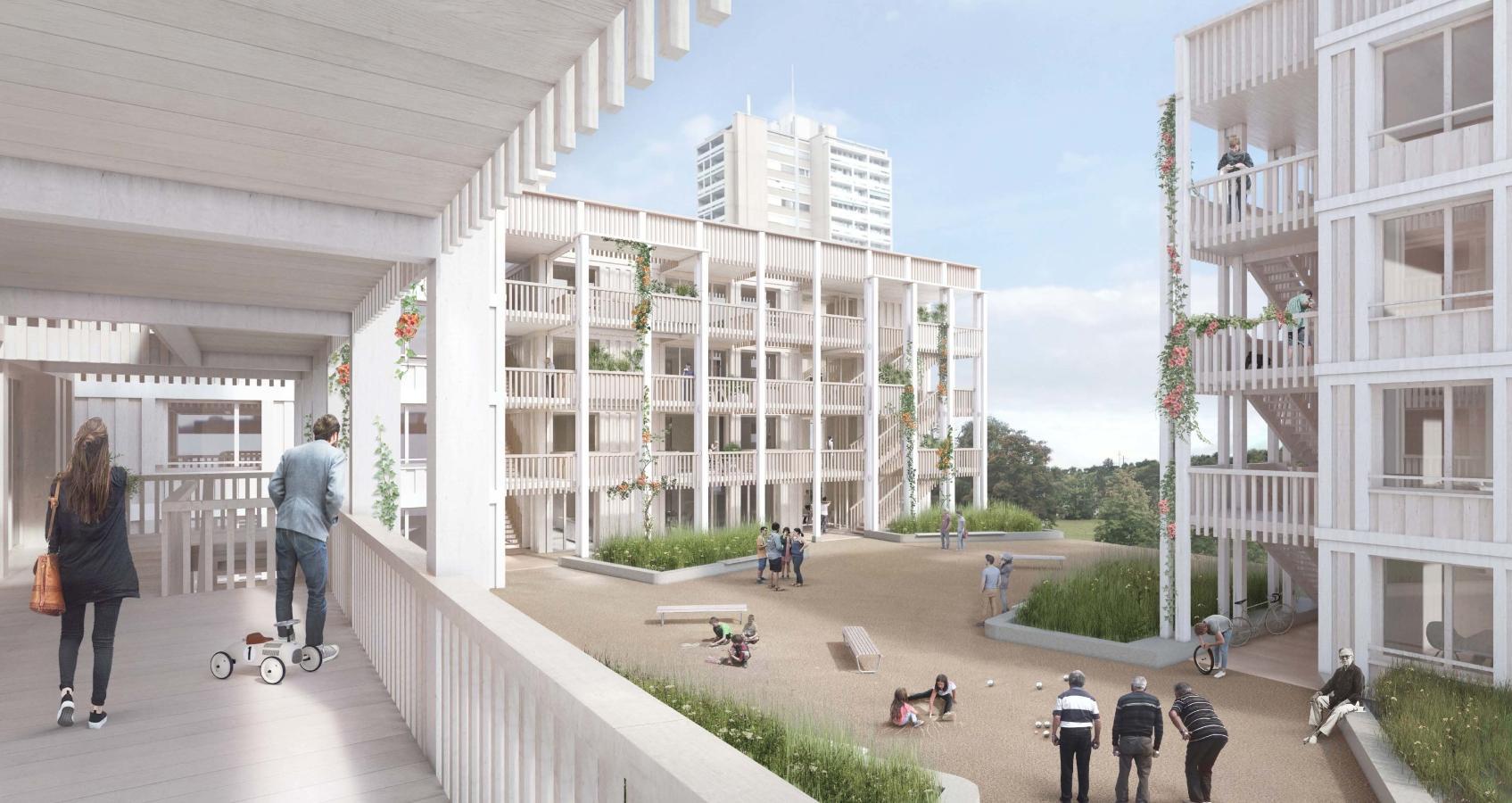 Siegerprojekt Kandalama von Müller Sigrist, Meier Leder Architekten (Visualisierung: Projektverfassende)