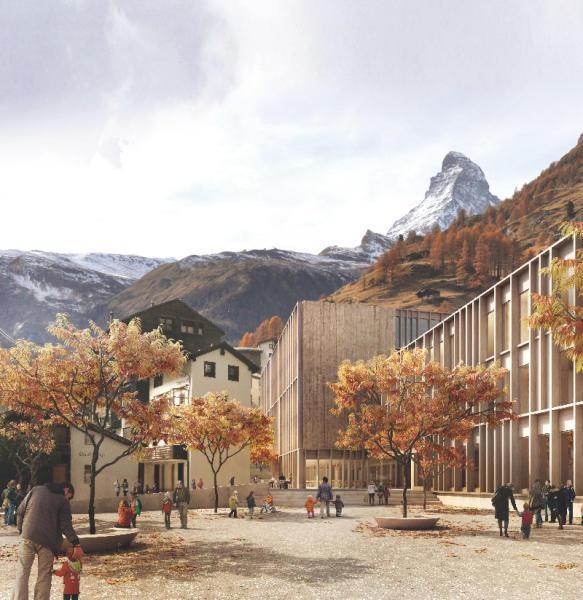 Siegerprojekt Tabula rasa von GWJArchitektur (Visualisierung: Projektverfassende)