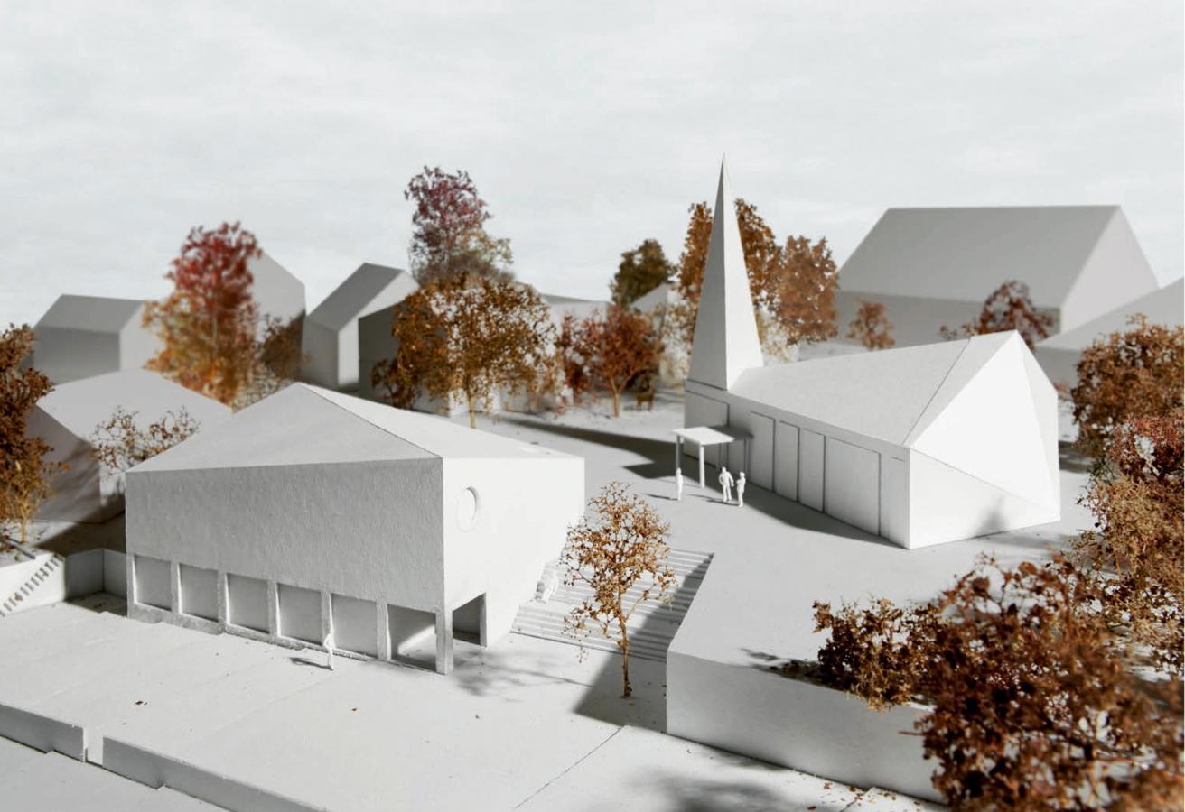 Siegerprojekt Thales von Huber Waser Mühlebach (Visualisierung: Projektverfassende)