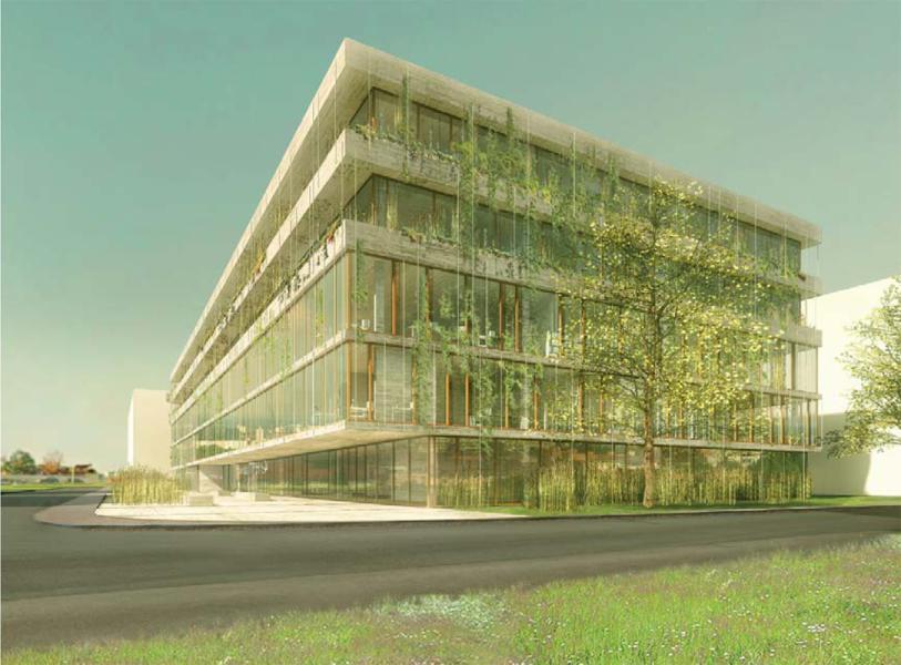 1. Rang «Belo Horizonte» von Kunz und Mösch Architekten (Visualisierung: Projektverfassende)