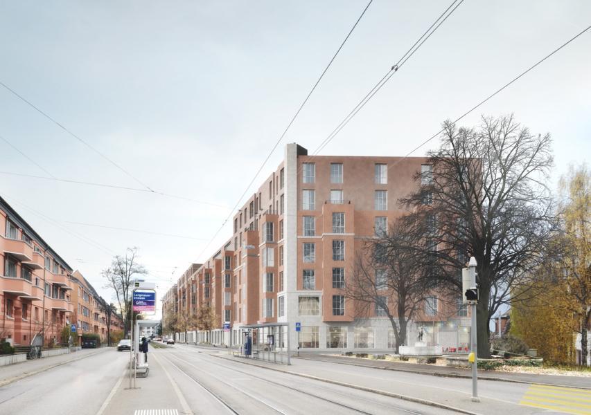 Siegerprojekt «Jim Knopf» von Atelier Abraha Achermann Architekten (Visualisierung: Projektverfassende)