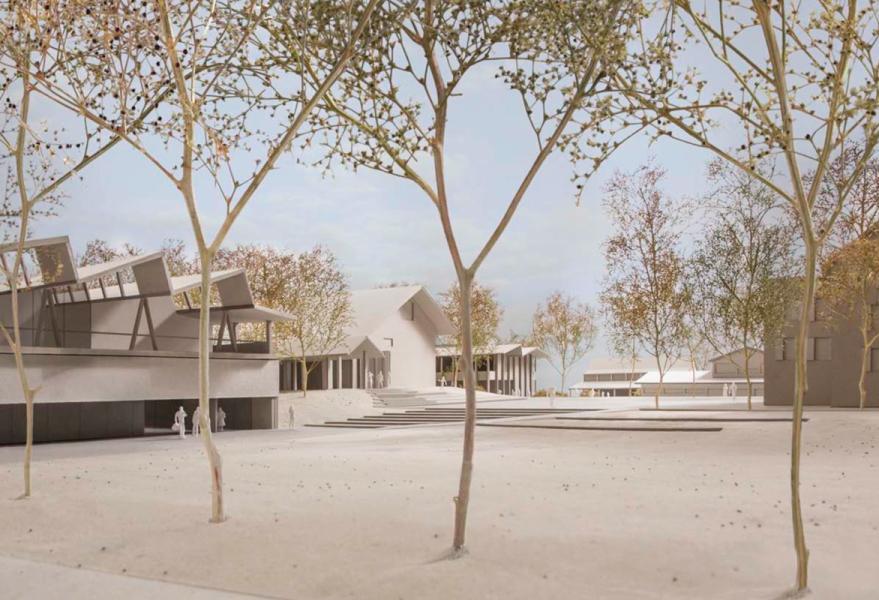 1. Rang «Riri» von Esch Sintzel Architekten (Visualisierung: Projektverfasser)