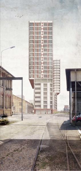 Siegerprojekt Tati von Armon Semadeni Architekten (Visualisierung: Projektverfassende)