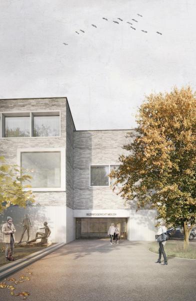 Siegerprojekt «Friedberg», raumfindung Architekten Rapperswil (Visualisierung: Projektverfassende)