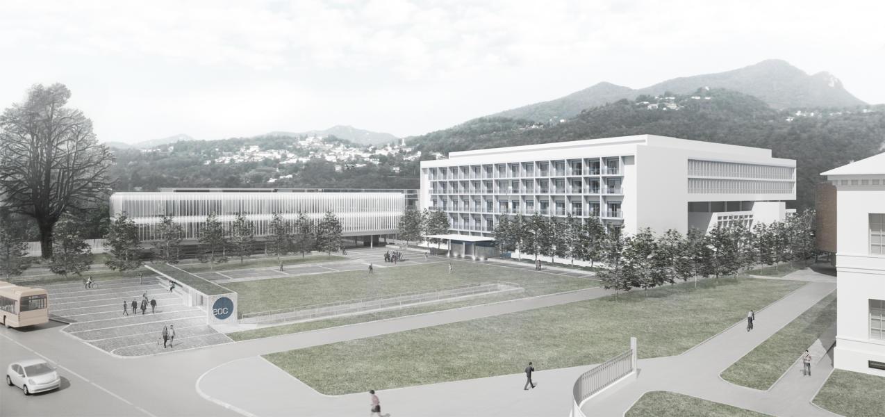 1. rango / 1. premio «Hospes» (Visualizzazione: Gaggini studio d'architettura, Lugano)