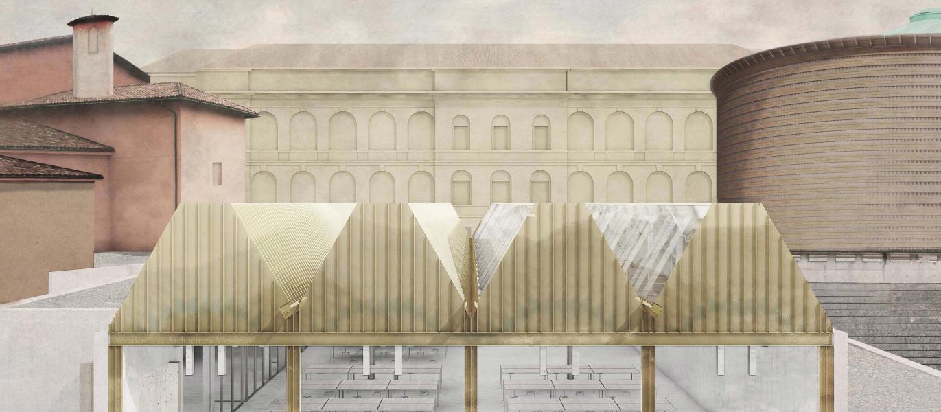1. rango / 1. premio «Amarcord» (Visualizzazione: Buchner Bründler AG Architekten)