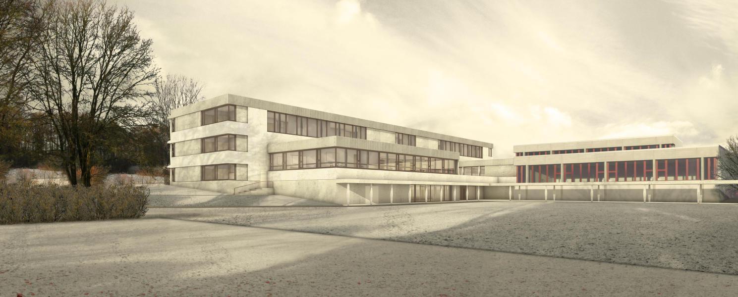 Lauener Baer Architekten, aussen (Visualisierung: Projektverfassende)