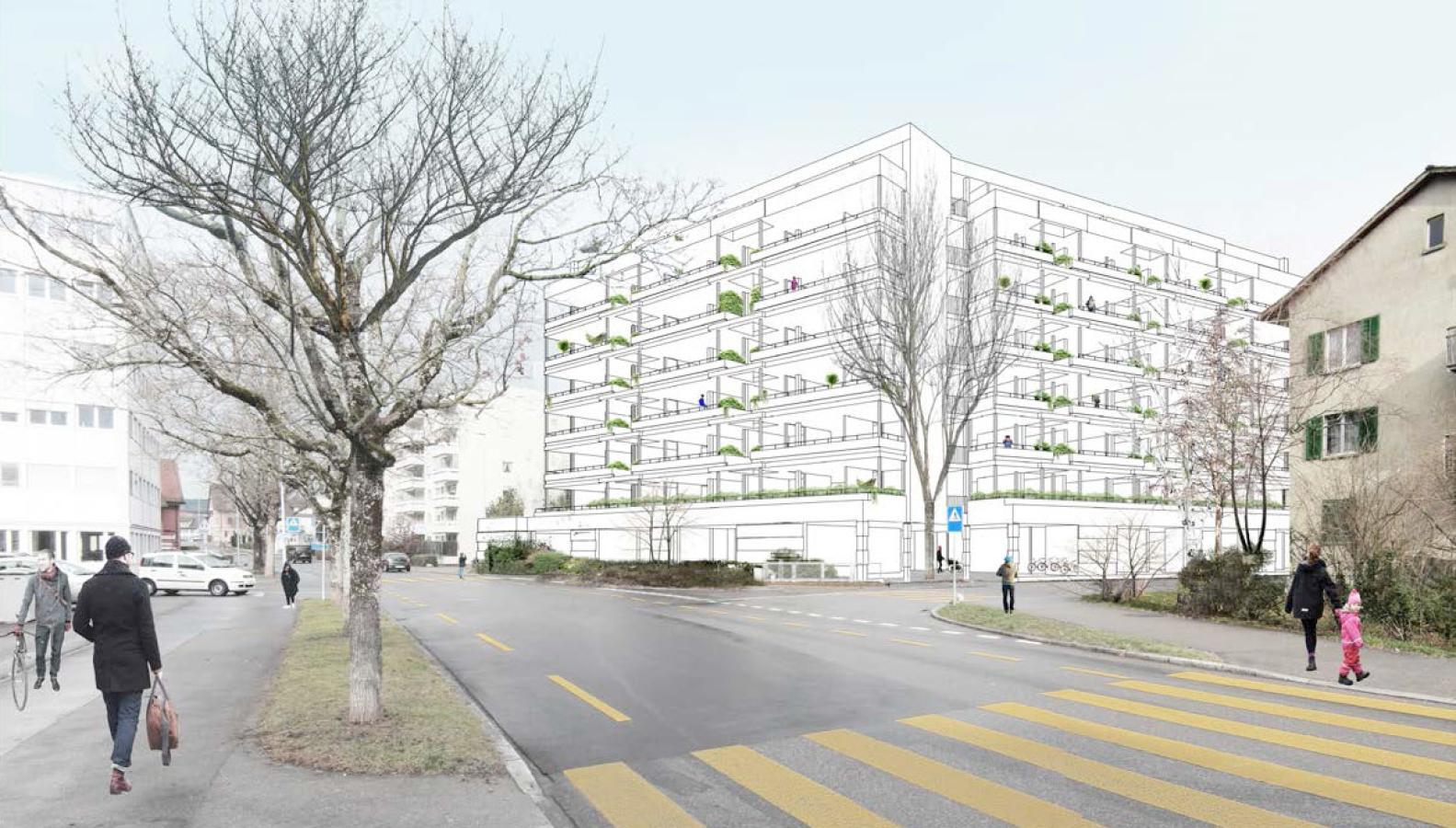 Siegerprojekt Carl von Studio Märkli (Visualisierung: Projektverfassende)
