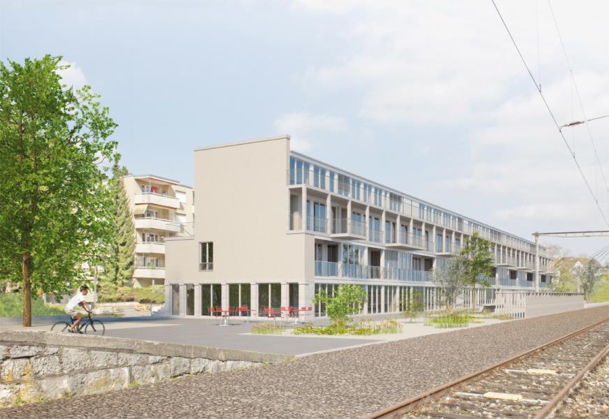 Siegerprojekt «Wegerich» von KilgaPopp Architekten (Visualisierung: Projektverfasser)