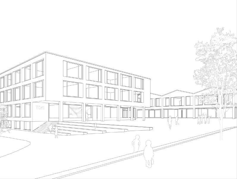 Siegerprojekt «Türli und Arni», Durrer Architekten, Luzern (Zeichnung: Projektverfasser)