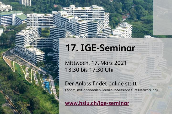 17. IGE-Seminar